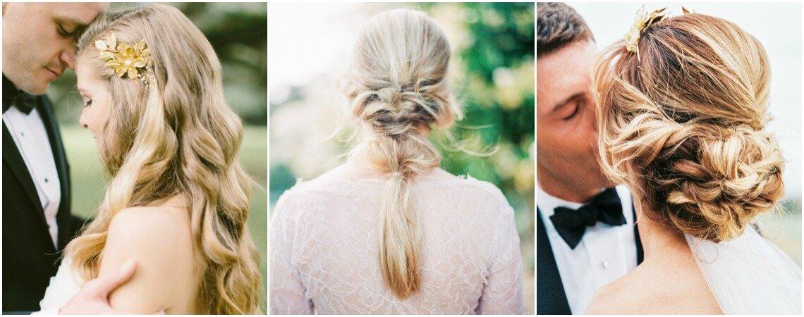 5 bruidskapsels voor de grote dag! Welke past het beste bij jouw look?