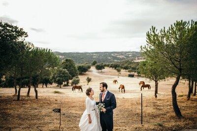 Moderno y creativo: la mejor apuesta para conseguir un reportaje de boda espectacular