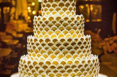Bolos e doces para casamento no Rio de Janeiro: 10 opções deliciosas!