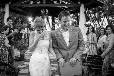 O fantástico casamento dos britânicos Alex e Lisa no Brasil
