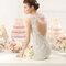 Hochzeits-Kleid: Brautkleid mit offenem Rücken