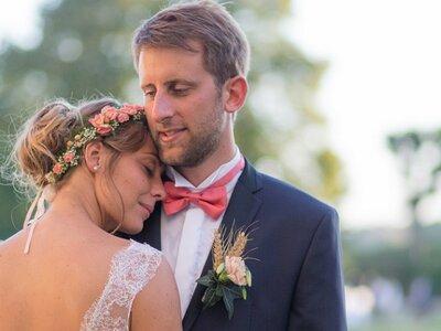 Créatif et pétillant, le mariage tout en finesse d'Anaïs et Thibault