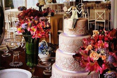Bolos de casamentos lindos e deliciosos: diversas opções para dar água na boca!