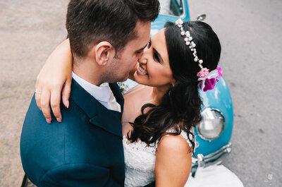 Mariana & Daniel: mini wedding BOHO CHIC super intimista e ROMÂNTICO em São Paulo