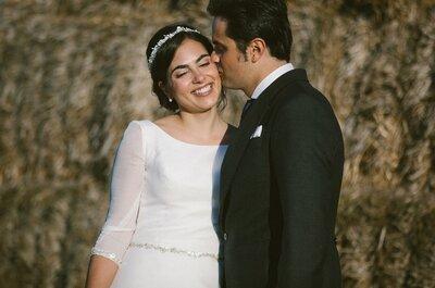 Compañeros de trabajo y de vida: la boda de Cor y Fer