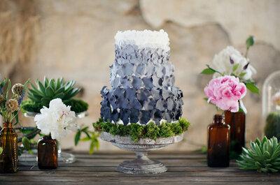 Pasteles de boda, inspiración para tu decoración