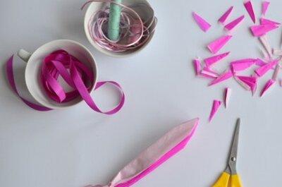 Decoración DIY para tu boda: Pompones de colores fáciles de hacer