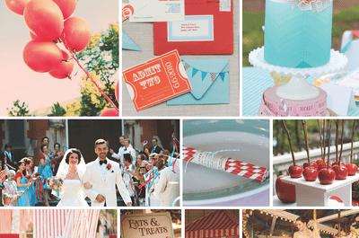 Una boda inspirada en una feria llena de color y diversión: Los pasos para lograrlo ¡Toma nota!
