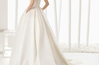 Rosa Clará und die Brautmode 2016: Heiraten Sie in einem Brautkleid mit Persönlichkeit und Charme!