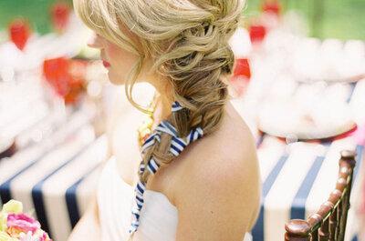 Peinados con flequillo para novia, la tendencia must para el 2016
