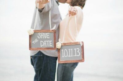 'Save the date' para tu boda