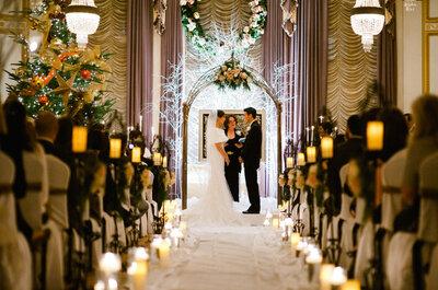 Inspírate en Navidad para la decoración de tu boda