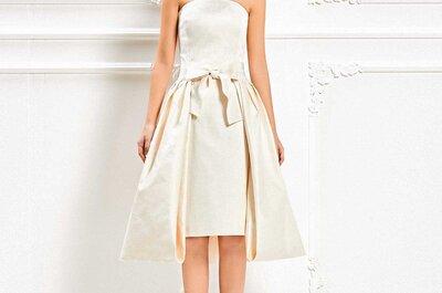 Vestidos de novia de Max Mara 2015: sofisticación y modernidad