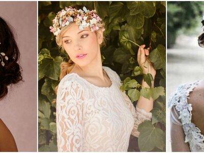 Tocados para novia 2017: Las creaciones más especiales