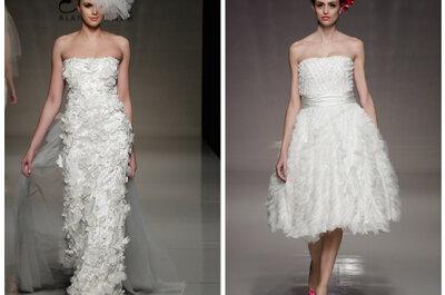 Os destaques de vestidos de noiva da White Gallery 2012