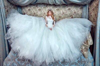 Vestidos de novia con tul que derrochan personalidad. ¡Una propuesta a la última moda!
