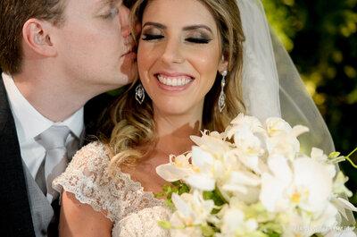 Casamento Fernanda & Fernando: clássico, romântico, lindo, dentro da tradição judaica!