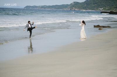 La más original sesión Trash the Dress en Islas Marietas: Escenarios magníficos que enmarcan tu historia de amor