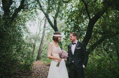 Cambios de planes de última hora que no borran la sonrisa: la boda de Laura y Cesc