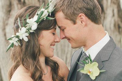 Cómo ir a juego con tu novio el día de la boda: ¡12 magníficas ideas!