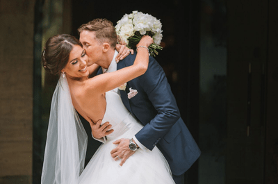 Love at first sight: The real wedding of Carla and Dan