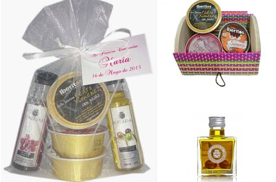10 regalos gourmet para los invitados de boda más sibaritas