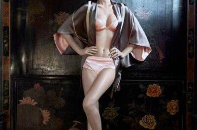 As lindas lingeries para noivas de La Perla