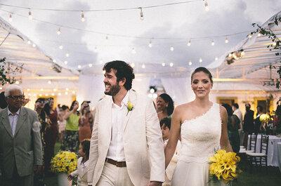 Casamento Malu e Felipe: romance de folia com final feliz em Recife