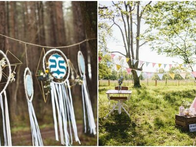 23 idées pour une décoration de mariage boho-chic en 2017 !