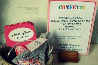 Confetti ślubne - wykonaj je własnoręcznie!