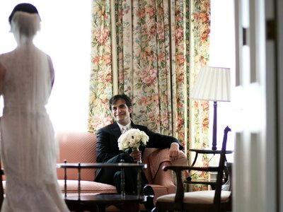 Painted Bliss: Emily + Nadav's Wedding in Illinois