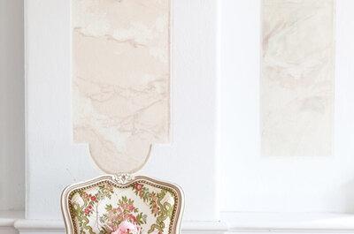 Un mariage au style rococo façon Marie-Antoinette