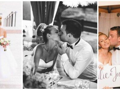 Emilie & Julien : un mariage DIY à la maison sous le beau soleil marseillais !