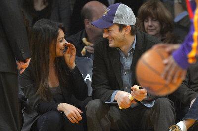 Mila Kunis y Ashton Kutcher por fin se dieron el esperado
