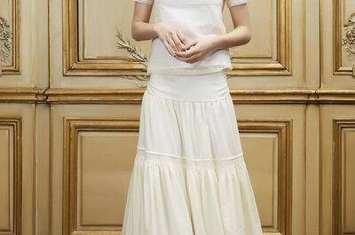 Abiti da sposa con cintura: la magica invenzione della linea A renderà perfetta la tua silhouette!