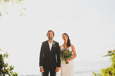 Hasta el infinito y más: La boda de Katie y James