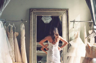 Los 5 pasos para encontrar el vestido de novia perfecto