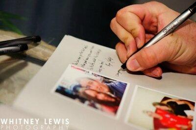Libri delle firme per matrimonio: modelli originali