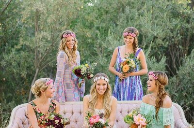 Gifts and gowns for your gorgeous bridesmaids