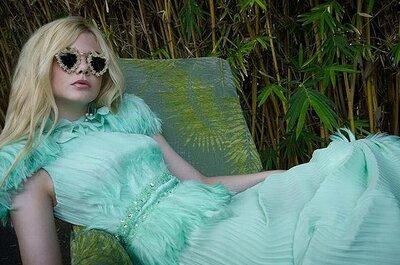 Smaragdgrüne Kleider für Hochzeitsgäste – Trendlook 2013!