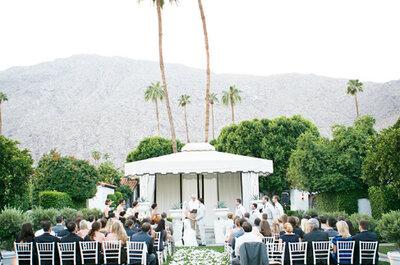 Altares de casamento encantadores
