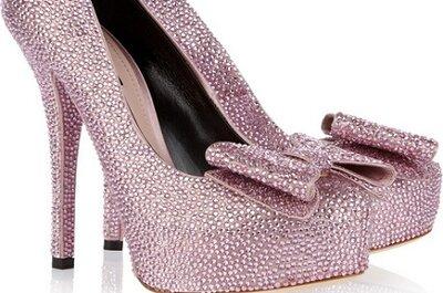 Tendencias: Zapatos glitter para tu boda