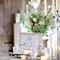 Decoración en color blanco para boda - Foto Leslee Mitchell