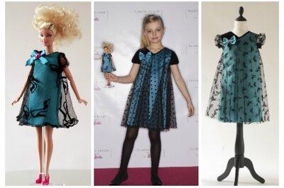 Suzanne Ermann, e la sua capsule-collection 2014 per piccole tenerissime Barbie!