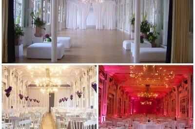 Les 20 plus beaux lieux de réception pour célébrer votre mariage en France.