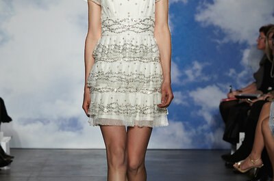 Suknie ślubne 2015: Jenny Packham- New York Bridal Week