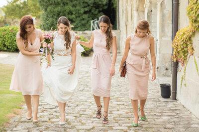 Cinco creativas formas de decir a tus amigas que serán tus damas de honor. ¡Sorpréndelas!