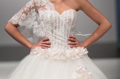 Top abiti da sposa in pizzo dalle sfilate Sì Sposa Italia
