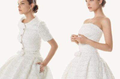 Vestidos para boda en invierno exclusivos de la colección 2013 Rosa Clara