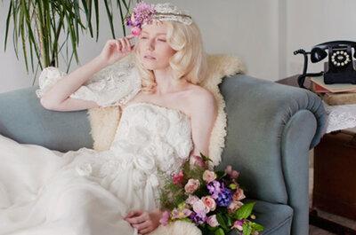 Vestidos de noiva inspirados em flores